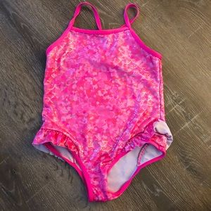 Limited Too Mermaid Sparkly One Piece Bathing Suit